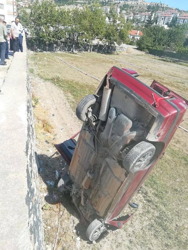 Bu kazayı görenler şaşırıp kaldı