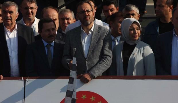 Bakan Kasapoğlu, MTB Cup yarışlarını başlattı