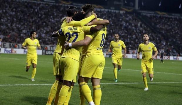 Chelsea deplasmanda galip!
