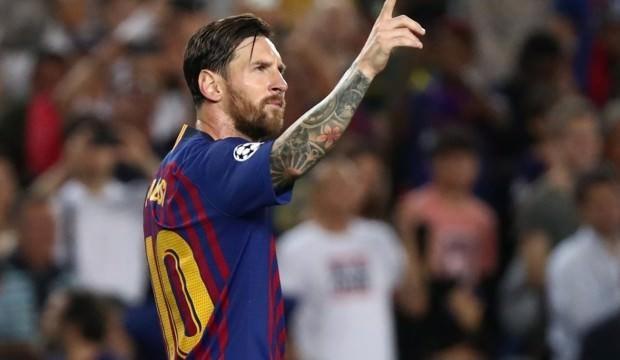 Devler Ligi'nde haftanın oyuncusu Messi oldu