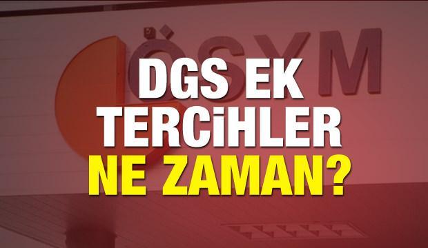 ÖSYM DGS ek yerleştirme kılavuzu yayınlandı mı? 2018 Başvuru ücreti...