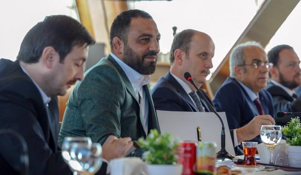 Hamza Yerlikaya, federasyon başkanlarıyla buluştu