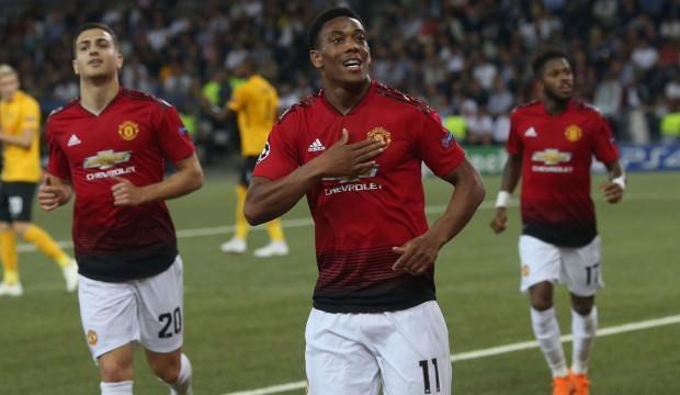 Manchester United İsviçre'de şov yaptı!