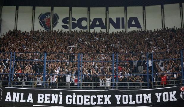 Beşiktaş taraftarından F.Bahçe'ye teşekkür
