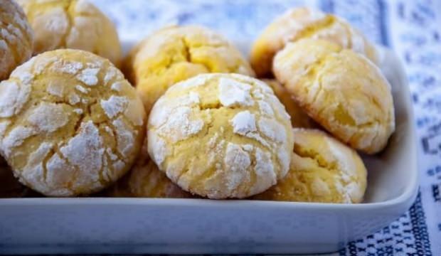 Margarinsiz 5 dakikada kurabiye tarifi