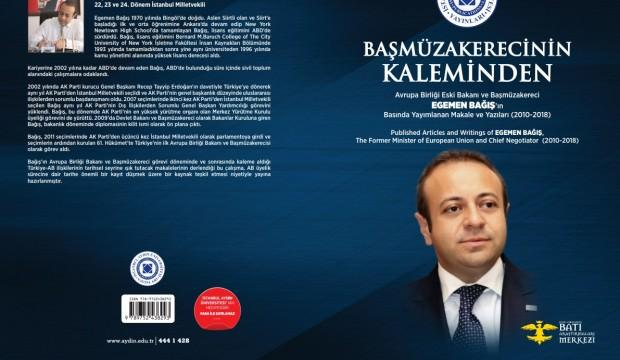 'Başmüzakereci'nin Kaleminden' kitabı çıktı