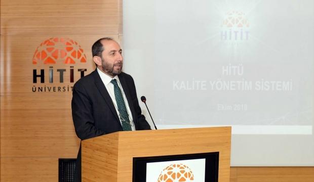 Hitit Üniversitesi Rektörü Alkan: