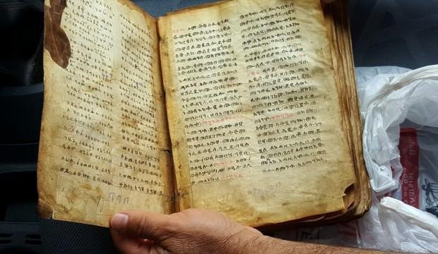 """""""İbranice el yazması büyü kitabı"""" operasyonu"""