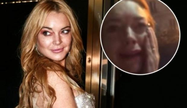 Lindsay Lohan'a mülteci aileden yumruk!