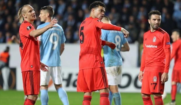 Malmö maçında Beşiktaş'tan ilginç rekor!