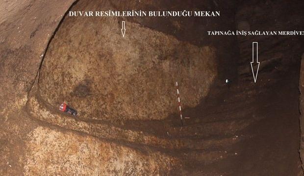 Yeni bir tapınak ve Asur figürleri keşfedildi