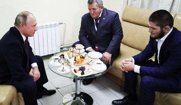 Putin'den, Khabib'e dikkat çeken mesaj!