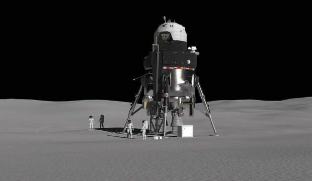 Ay'a gidecek uzay aracı prototipini tanıttı