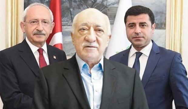 CHP-HDP'nin seçim ittifakına FETÖ de dahil oldu