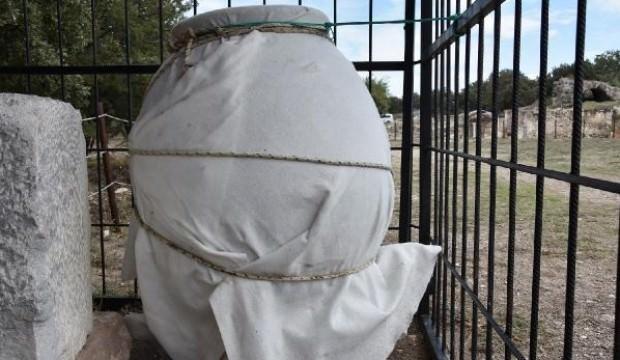 1500 yıllık küp bulundu! Bakın içinden neler çıktı