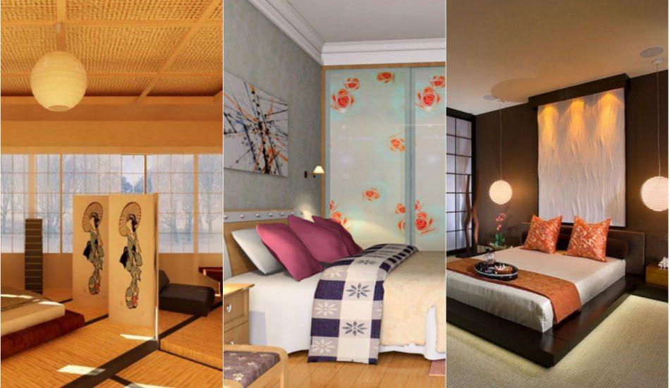 2018-2019 japon tarzı yatak odası dekorasyonu