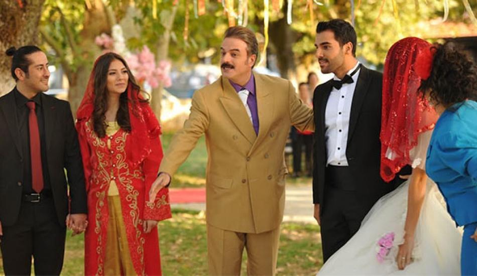 'Kalk Gidelim'de üç düğün aynı anda çekildi!