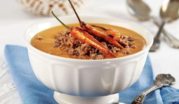 Kıymalı tarhana çorbası tarifi