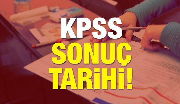 2018 KPSS ortaöğretim sınav sonucu ne zaman açıklanacak?