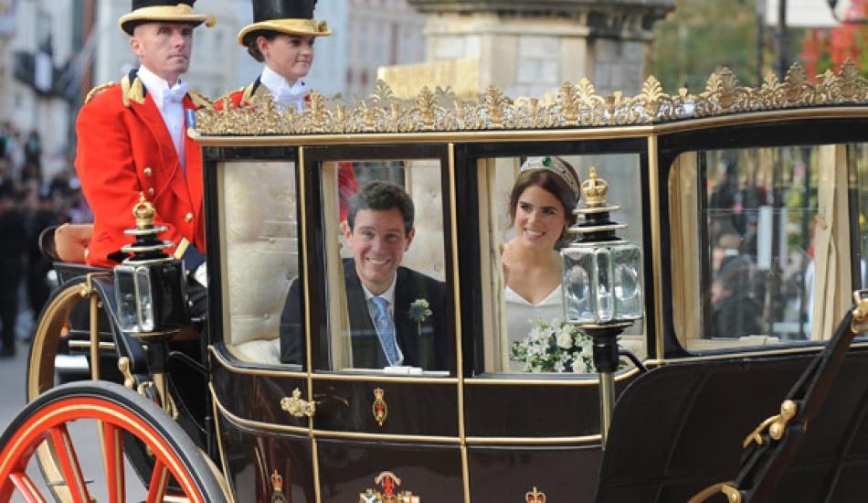 Princess Eugenie ve ihtişamlı düğünü