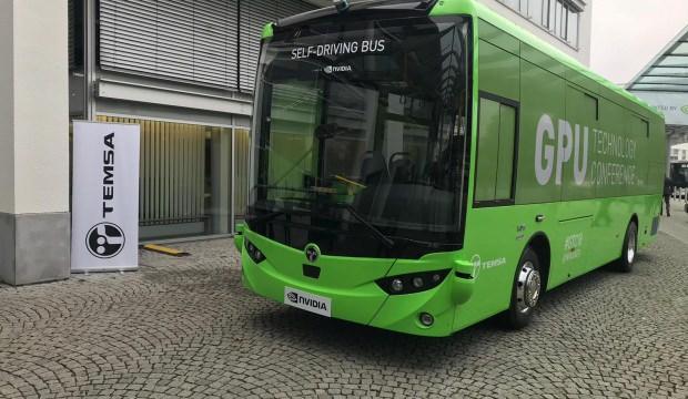 TEMSA'nın sürücüsüz otobüsü 2022'de yola çıkacak