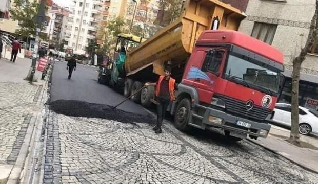 CHP'li belediyeden asfalt rezaleti!