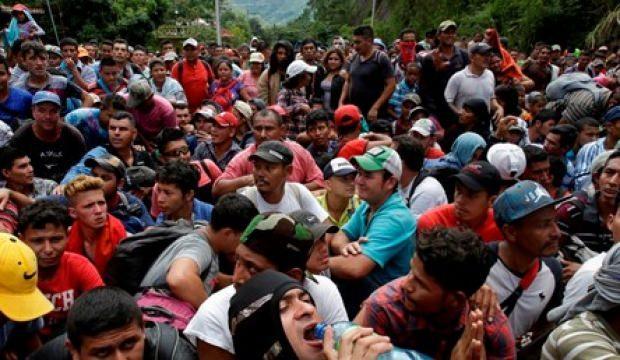 ABD'yi korkutan göçmen yürüyüşü!