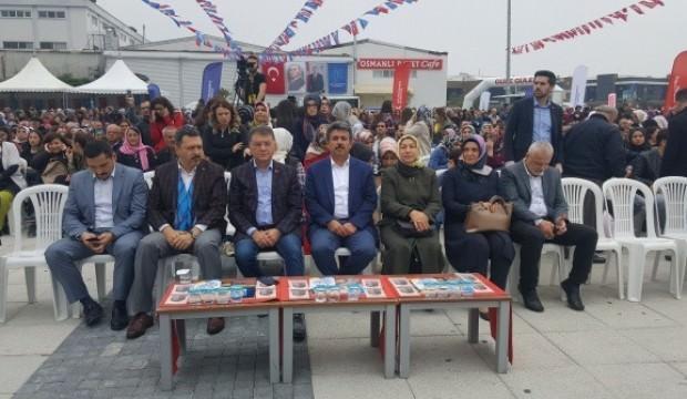 Balık Festivali'nde 15 bin kişiye balık ikramı