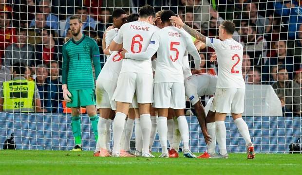 İngiltere İspanya'yı salladı: 5 gol...