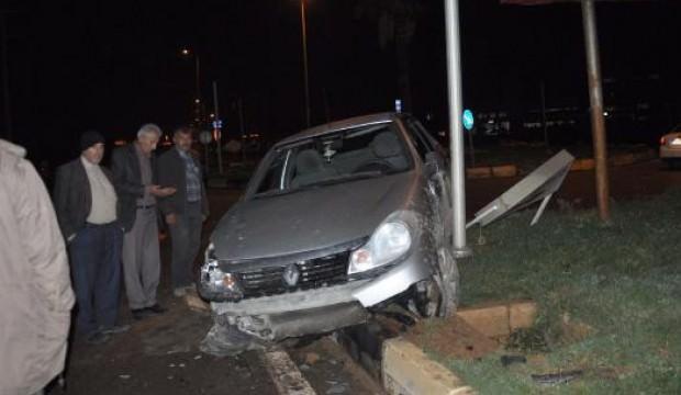 İslahiye'de otomobiller çarpıştı: 5 yaralı