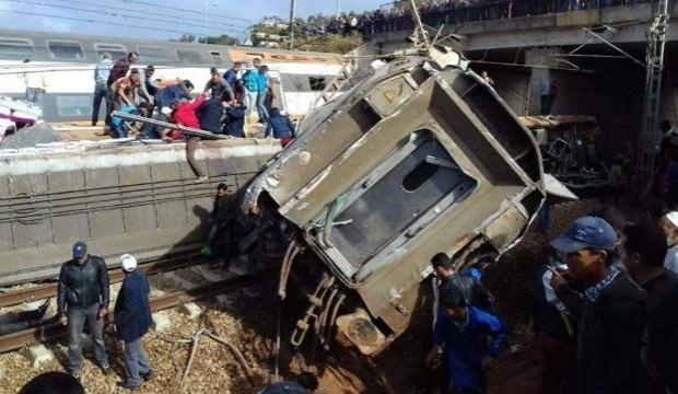 Fas'ta büyük tren kazası: En az 10 ölü, 100 yaralı