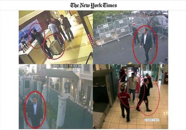 The New York Times, Maher Abdulaziz Mutreb'in konsolosluğa giriş-çıkışı, otelden valiziyle ayrılışı ve Atatürk havalimanındaki görüntülerini yayınlamıştı.