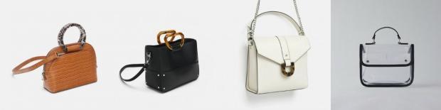 5874898b5ff51 Sezonun en ilginç tarzlarından biri olan şeffaf kumaşlar klasik çantalarda  da kullanıldı. En ilginç çanta modellerine giren şeffaf kumaşın yanı sıra  ...