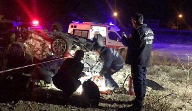Havacı astsubay kazada hayatını kaybetti