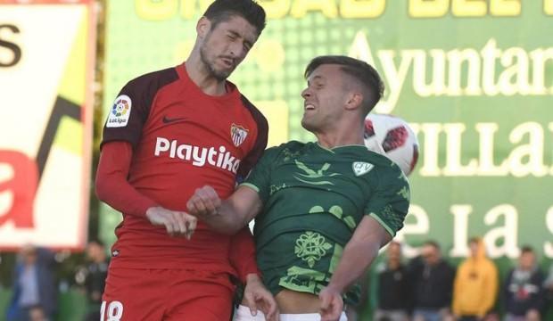 Sevilla, üçüncü lig ekibini yenemedi