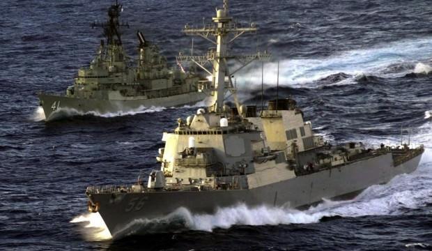 12 savaş gemisi Akdeniz'de! Türkiye teyakkuzda