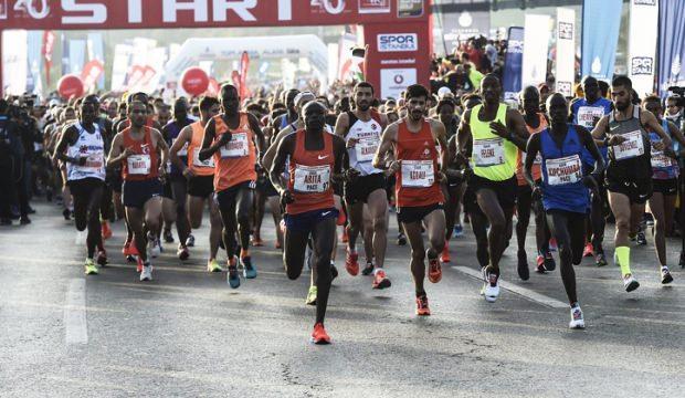 40. İstanbul Maratonu'nda parkur rekoru kırıldı!