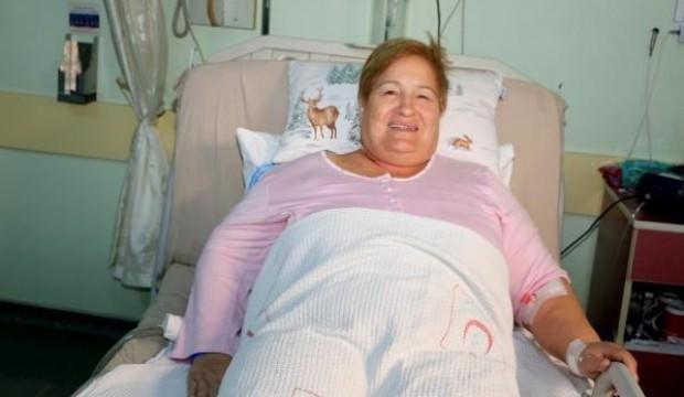 Kanser sanılan kadının akciğerinden bakın ne çıktı