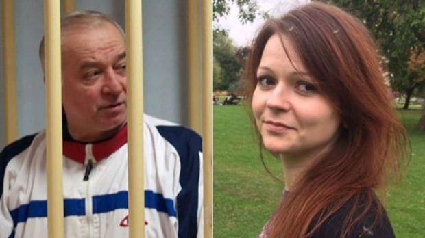 Sergey Skripal ve kızı Yulia Skripal...