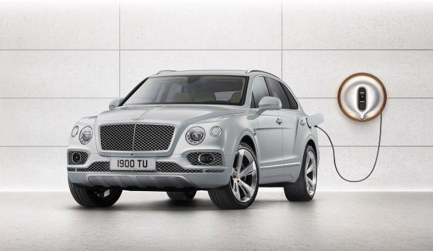Bentley elektrikli pazarına yöneliyor