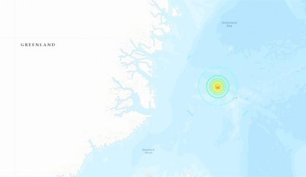 Grönland'da 6.8 büyüklüğünde deprem