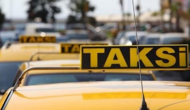 Lise önünde durdurulan taksiden cephanelik çıktı!