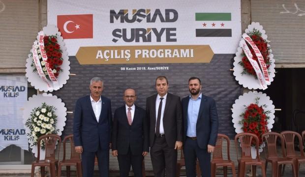 MÜSİAD Suriye'nin kuzeyinde şube açtı