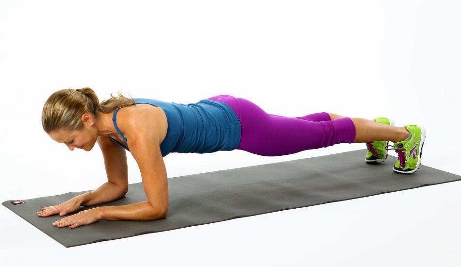 Karın kası çalıştıran plank nasıl yapılır?