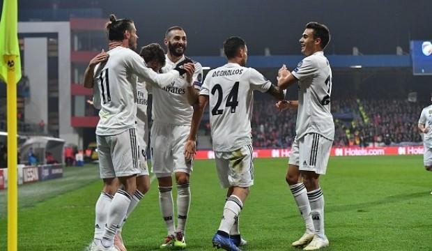 Real Madrid uyanıyor! 5 gollü zafer...