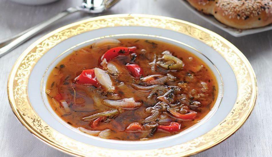 Tarhun otlu alaca çorba tarifi