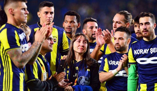 Maç sonu Kadıköy'de duygu seli!