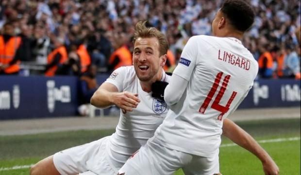 Harry Kane İngiltere'yi yarı finale taşıdı!