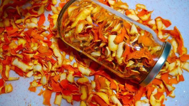 Portakal kabukları
