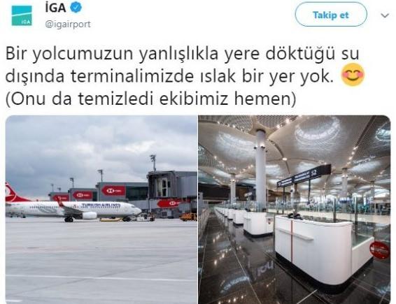 'İstanbul Havalimanı'nı su bastı' diyenlere cevap…
